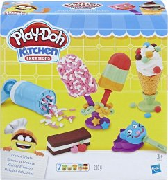 Hasbro E0042EU4 - Play-Doh Kitchen Creations, Kleiner Eissalon, Spiel-Set, Knete