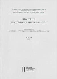 Römische Historische Mitteilungen 59/2017