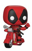 POP! Ride Marvel: Deadpool - Deadpool & Scooter