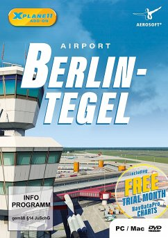 XPlane 11 AddOn Airport Berlin Tegel (PC)