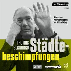 Städtebeschimpfungen (MP3-Download) - Bernhard, Thomas
