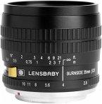 Lensbaby Burnside 35 Objektiv für Sony E-Mount (62 mm Filtergewinde, Vollformat / APS-C Sensor)