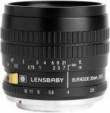 Lensbaby Burnside 35 Nikon F Objektiv für Nikon (62 mm Filtergewinde, Vollformat / APS-C Sensor)