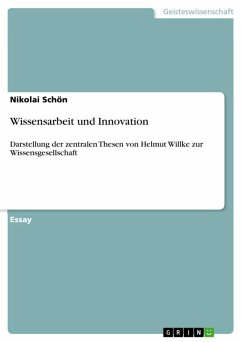 Wissensarbeit und Innovation (eBook, ePUB)