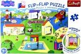 Flip-Flap Peppa Pigs (Kinderpuzzle)