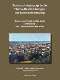 Statistisch-topographische Städte-Beschreibungen der Mark Brandenburg, 1786