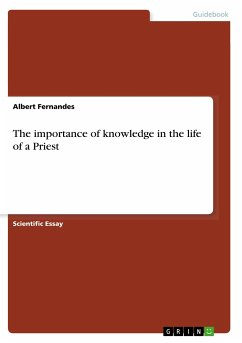 The importance of knowledge in the life of a Priest