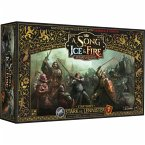 Asmodee CMN0055 - A Song of Ice & Fire: Tabletop Miniaturenspiel Stark vs Lannister Starter-Set, Fantasy Spiel