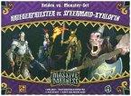Asmodee CMN0046 - Massive Darkness, Kriegerpriester vs. Speermaid-Zyklopin, Erweiterung