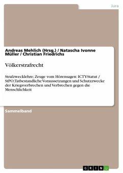 Völkerstrafrecht (eBook, ePUB)