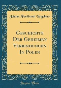 Geschichte Der Geheimen Verbindungen In Polen (Classic Reprint)