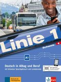 Linie 1 Schweiz A1. Kurs- und Übungsbuch mit DVD-ROM
