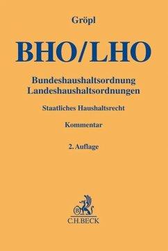 Bundeshaushaltsordnung / Landeshaushaltsordnung...