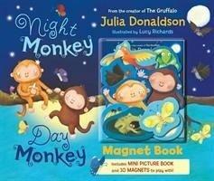 Night Monkey Day Monkey (Magnet Book)