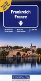Kümmerly+Frey Karte Frankreich Nord+Süd Strassenkarte 1:600 000