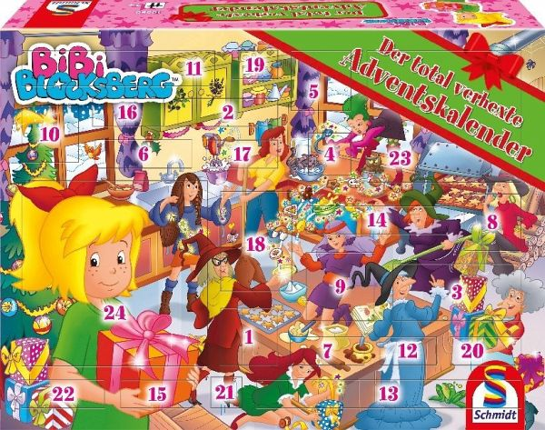 Bibi Blocksberg Adventskalender 2018