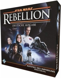 Asmodee FFGD3006 - Star Wars: Rebellion, Aufstieg des Imperiums, Strategiespiel, Erweiterung