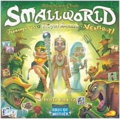 Asmodee DOW0010 - Days of Wonder, Small World, Frauenpower, Royal Bonus, Verflucht, Brettspiel