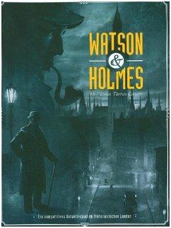 Asmodee SCD0014 - Watson & Holmes, Kriminalspiel, Familienspiel