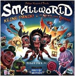 Asmodee DOW0011 - Days of Wonder: Small World, Keine Panik und Im Netz der Spinne, Power Pack 1, Erweiterung