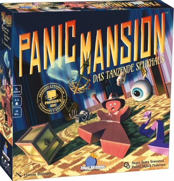 Blue Orange BLO0007 - Panic Mansion, Das tanzende Spukhaus Geschicklichkeitsspiel, Gesellschaftsspiel, Brettspiel, Familienspiel