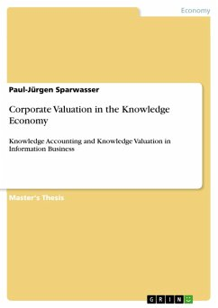 Corporate Valuation in the Knowledge Economy (eBook, ePUB)