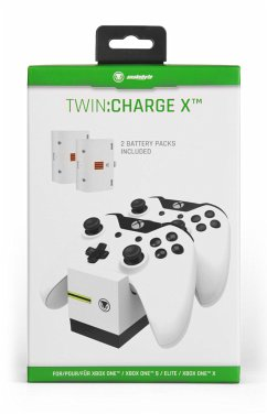 Snakebyte Xbox One Twin:Charge X White
