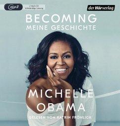 Becoming - Meine Geschichte, 2 MP3-CD - Obama, Michelle
