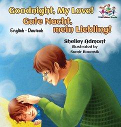 Goodnight, My Love! (English German Children's Book): German Bilingual Book for Kids
