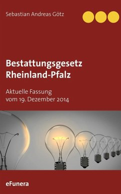 Bestattungsgesetz Rheinland-Pfalz (eBook, ePUB)