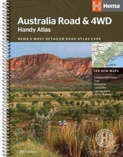 Hema Autoatlas Australia Handy Ringbuch