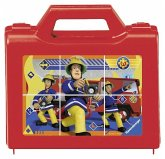 Feuerwehrmann Sam: Sam, der tapfere Feuerwehrmann. Würfelpuzzle 6 Teile