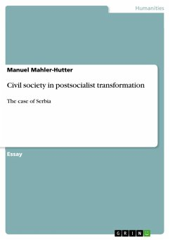 Civil society in postsocialist transformation (eBook, ePUB)