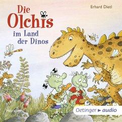 Die Olchis im Land der Dinos / Die Olchis Erstleser Bd.1 (MP3-Download) - Dietl, Erhard