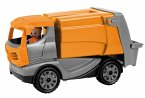 LENA® 01623 - Truckies Müllwagen, mit Spielfigur, Müllauto, Sandspielzeug