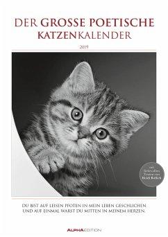 Der große poetische Katzenkalender 2019