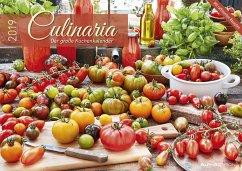 Culinaria - Der große Küchenkalender 2019
