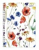 Ladytimer Ringbuch Flowers 2019