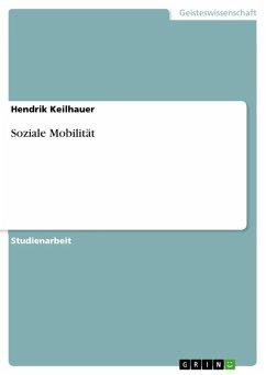 Soziale Mobilität (eBook, ePUB)