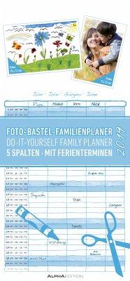 Foto-Bastel-Familienplaner 2019