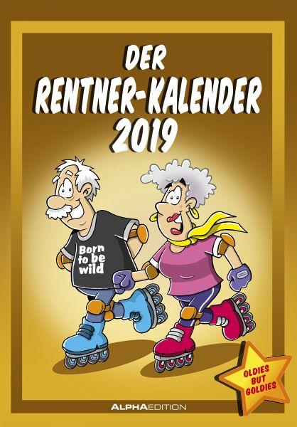 Rentnerkalender 2019 - Kalender portofrei bestellen