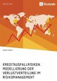Kreditausfallrisiken. Modellierung der Verlustverteilung im Risikomanagement