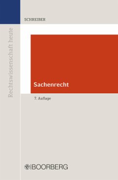Sachenrecht - Schreiber, Christoph