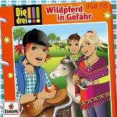 Die drei !!! 55: Wildpferd in Gefahr, 1 Audio-CD
