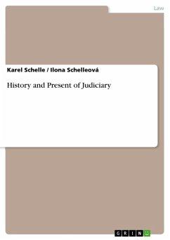 History and Present of Judiciary (eBook, ePUB)