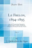Le Frelon, 1894-1895, Vol. 4
