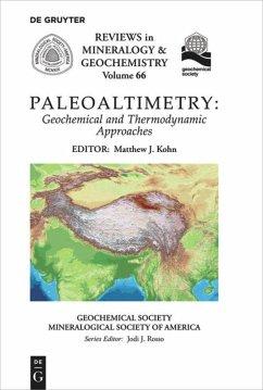 Paleoaltimetry