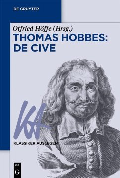 Thomas Hobbes: De cive (eBook, ePUB)