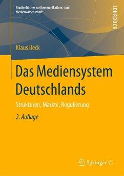 Das Mediensystem Deutschlands - Beck, Klaus