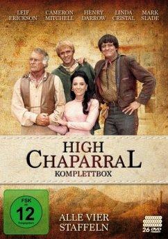 High Chaparral - Komplettbox: Alle vier Staffeln DVD-Box